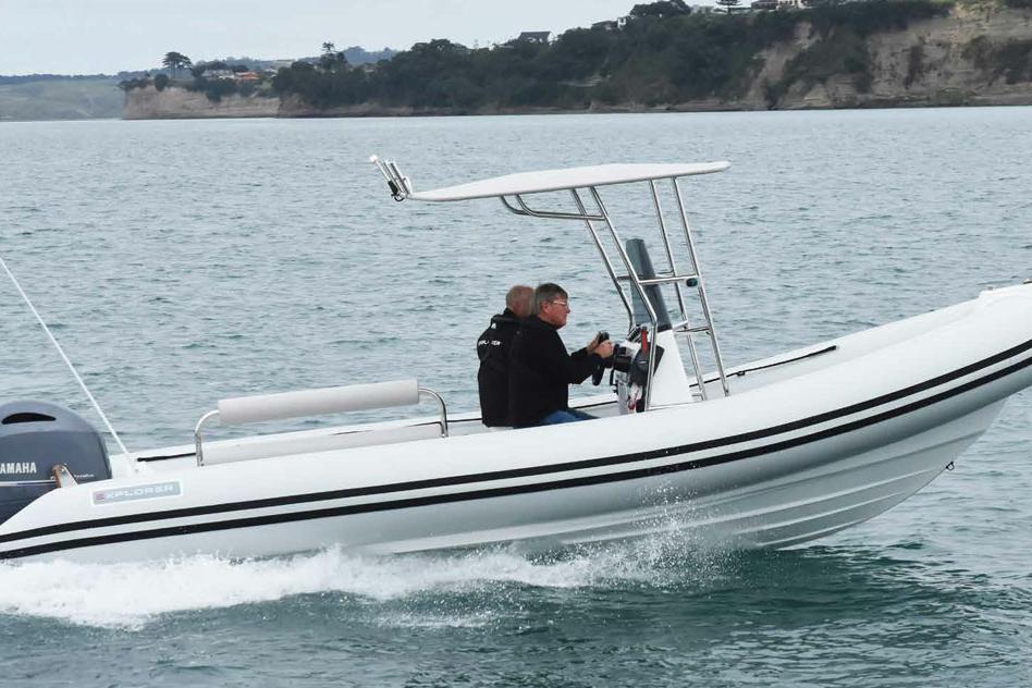 Explorer Boats 7 Meter Series